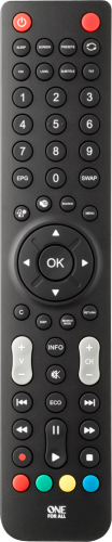 URC1921 Sharp TV Remote